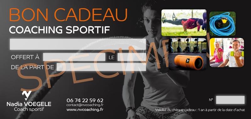 Bon Cadeau Coaching Sportif